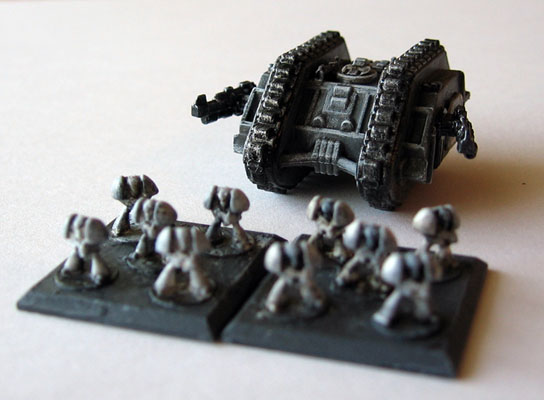 Epic miniatures | DUSTY GAMER