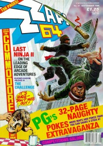 Zzap!64 magazine, cover of issue 41