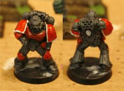 Space Marine color scheme