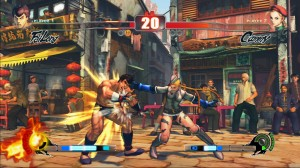 Street Fighter IV: Cammy versus Fei Long