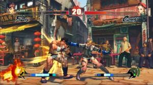 Street Fighter IV: Cammy versus Fei Long
