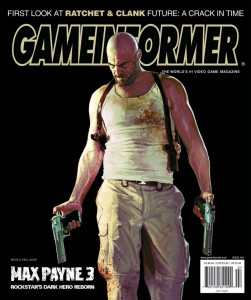 Max Payne 3 on Game Informer cover