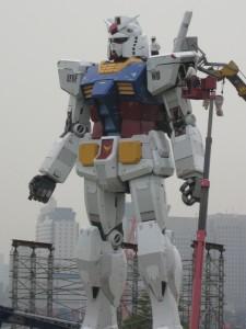 RX-78 Gundam in Odaiba, Tokyo