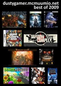 My 10 best games of 2009