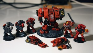 WIP: Space Marine Blood Angels