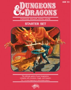 Dungeons & Dragons Red Box cover