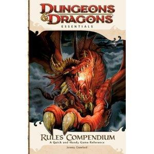 Dungeons & Dragons Essentials - Rules Compendium - cover