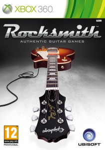Rocksmith Xbox 360 PAL cover