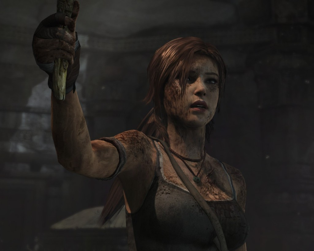 Lara goes through quite a transformation in the game, even if it isn't visually as extreme as Batman's or Spec Ops The Line's.