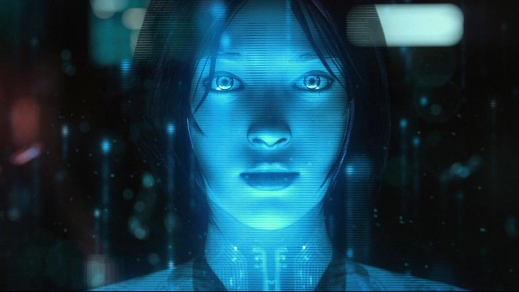 Cortana, weirdly emotional. The plot wouldn't work without it. You get used to it pretty fast. Aren't stories about people changing?