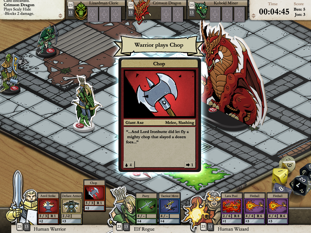 Card Hunter screenshot
