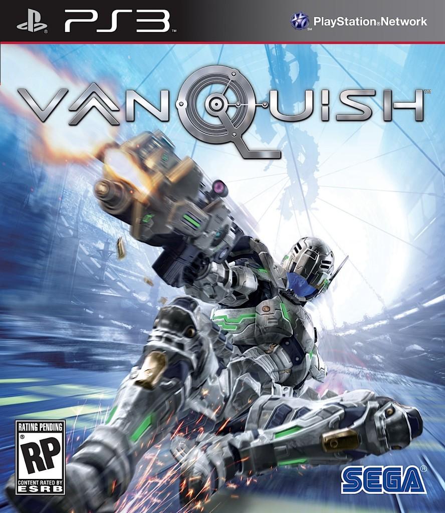 Vanquish (PS3) cover art