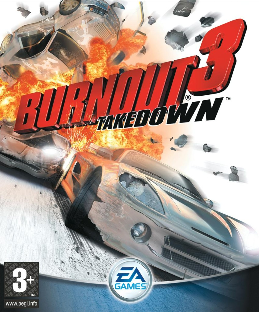 Burnout 3: Takedown cover (PS2, EU)