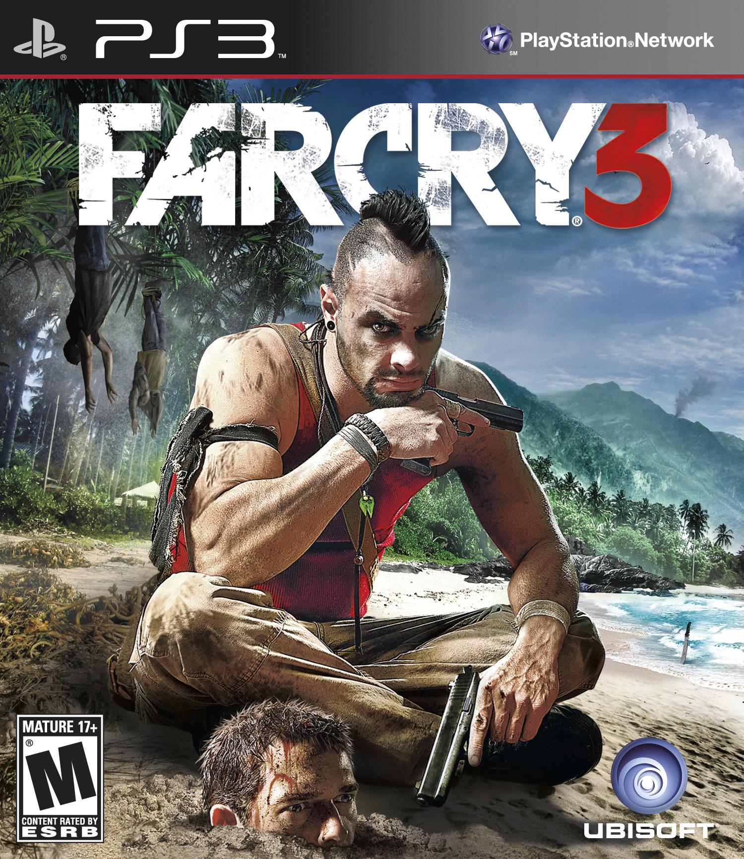 Kết quả hình ảnh cho Far Cry 3 cover ps3