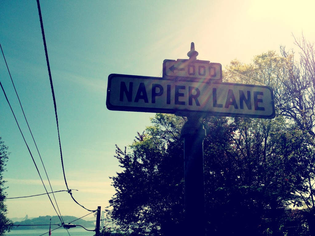 Napier Lane, San Francisco, March 2013
