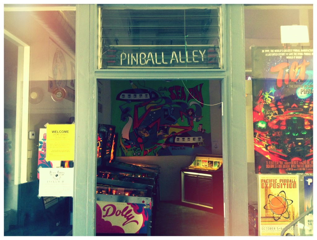 Pacific Pinball, San Francisco, March 2013